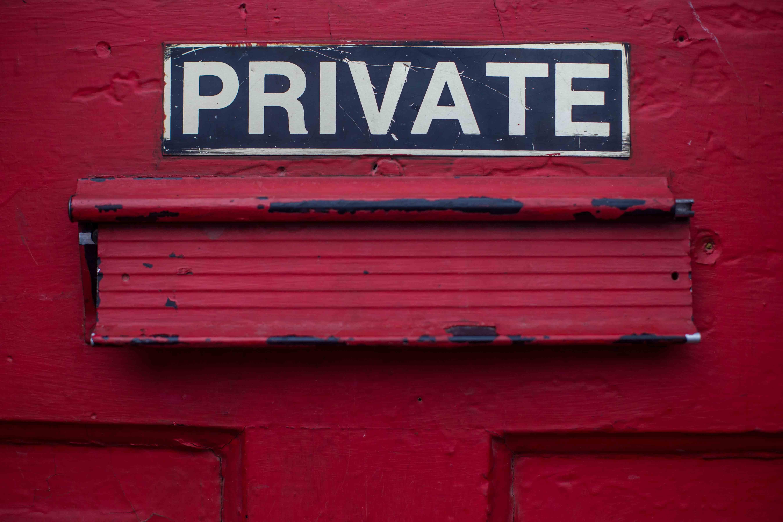 persoonlijke data en privacy